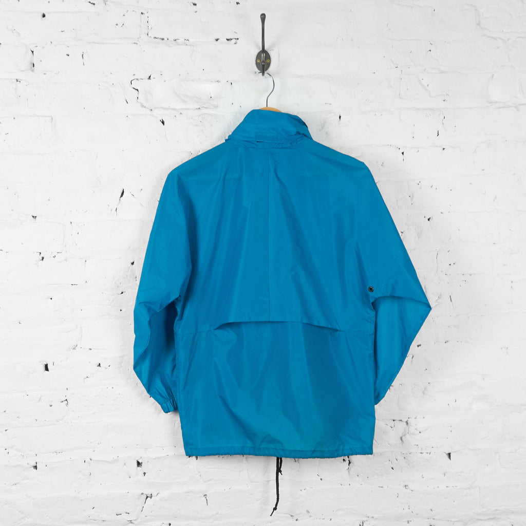 Vintage Kids K-way Cagoule Jacket - Blue - L - Headlock