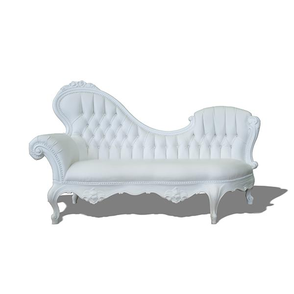 Chaise Lounge Baroque Droit