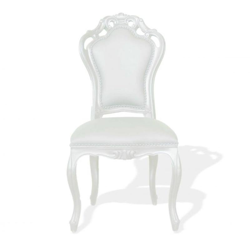 Chaise Baroque - Blanc