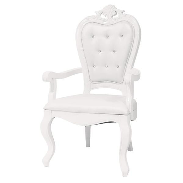 Chaise Style Victoria - Blanc