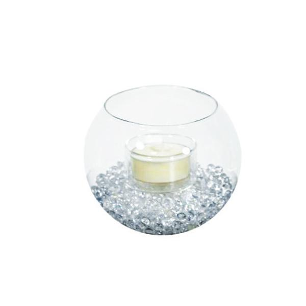 Bougeoirs Ronde - Verre