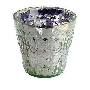 Bougeoirs Vintage 4'' - Menthe