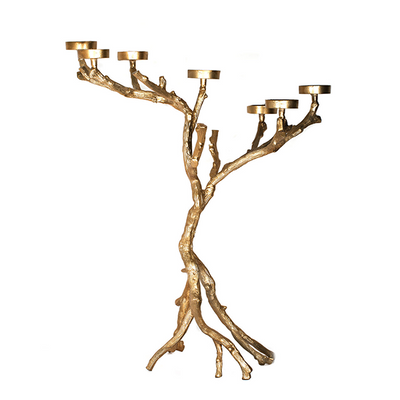 Chandelier Arbre Or