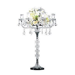 Chandelier Cristal 42'H - 6 branches