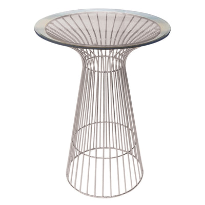 Table Cocktail Filaire - Argent