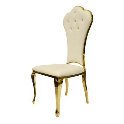 Chaise Duchesse Or