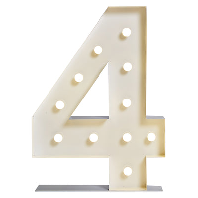 "Marquee ""4"" Lumineux"