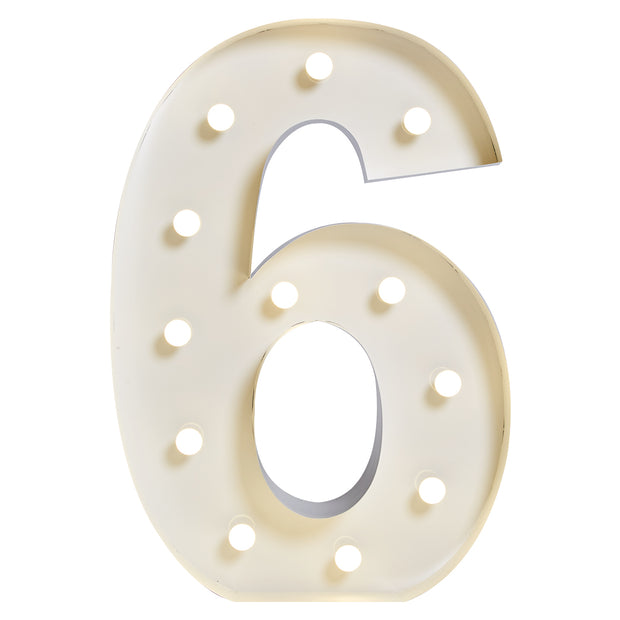 "Marquee ""6"" Lumineux"