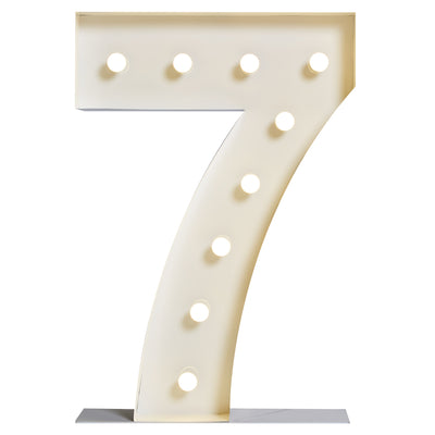 "Marquee ""7"" Lumineux"