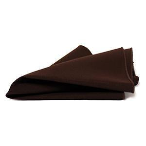 Serviette de Table Polyester - Brun Chocolat