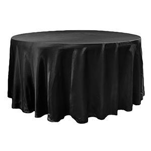 Nappe Satin Brillant - Noir