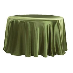 Nappe Satin Brillant - Olive