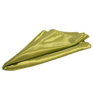 Serviette de Table Satin Brillant - Olive