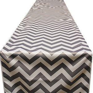 Chemin de Table Chevron - Gris
