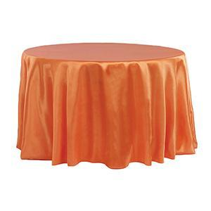 Nappe Peau de Soie - Orange