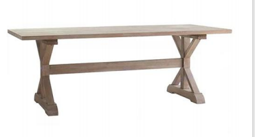 Table en bois rectangulaire - Modesto