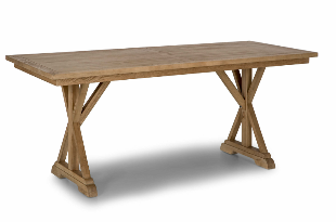 Table en bois rectangulaire - Malibu