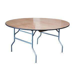 Table Pliante Ronde 60''