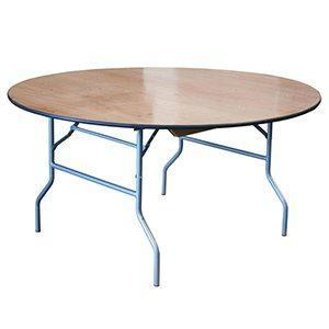 Table Pliante Ronde 72''