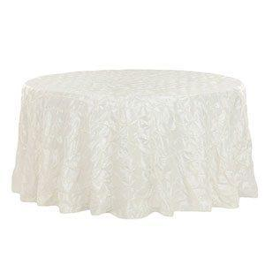 Nappe Taffetas Pinched - Blanche