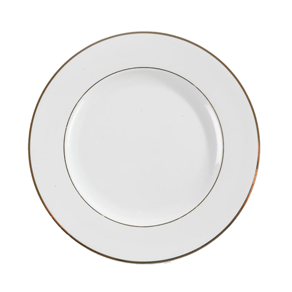 Assiette Filet Or - 10.5''