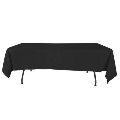 Nappe Rectangulaire Polyester Noir