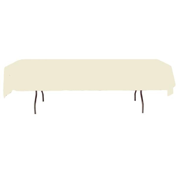 "Nappe Polyester 72"" x 120"" - Ivoire"