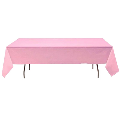 Nappe Rectangulaire Polyester Rose