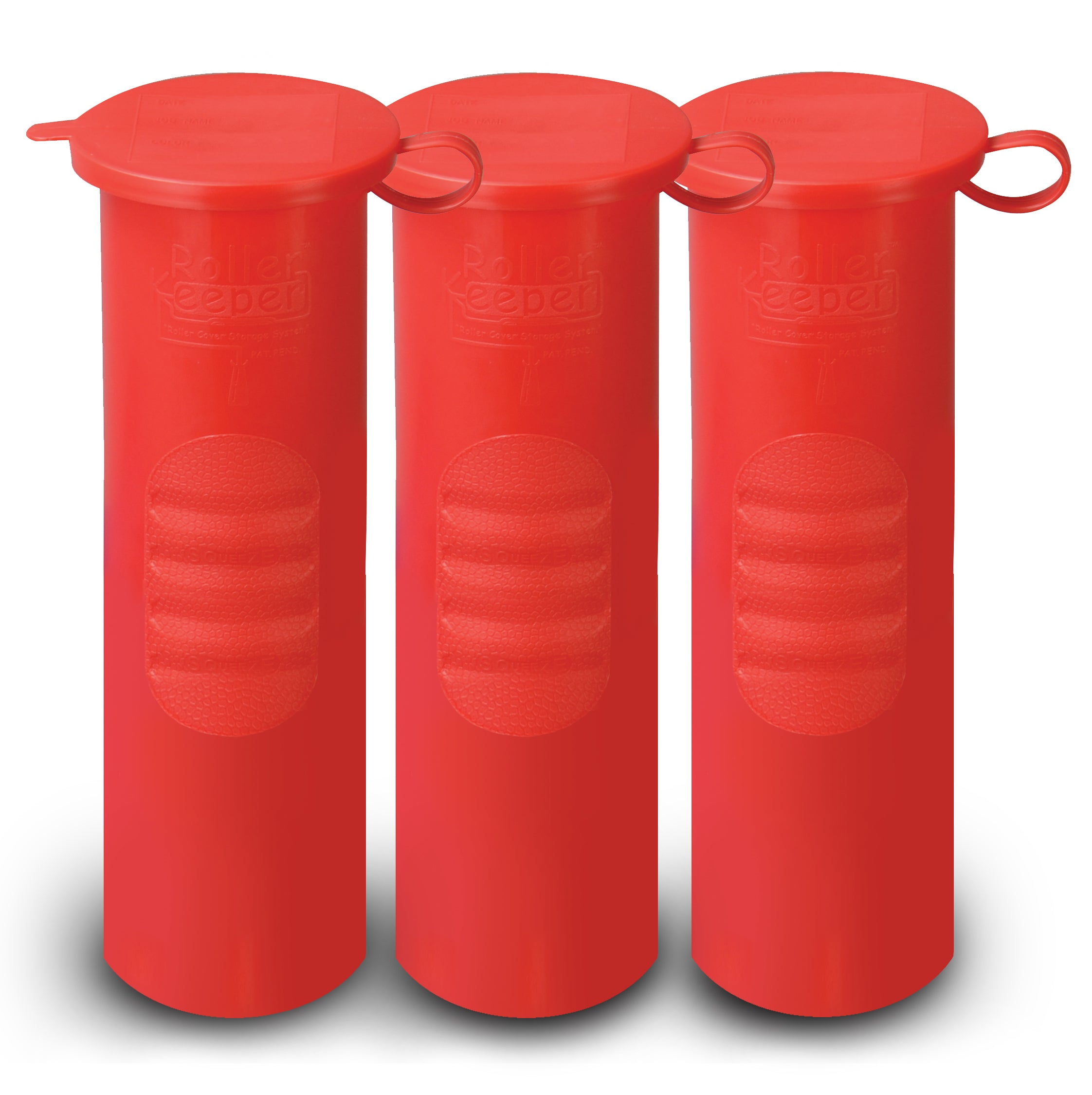 Roller Keeper Red 3-Pack - Cosplaysan