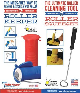 Roller Keeper - Roller Squeegee Combo Pack - Cosplaysan