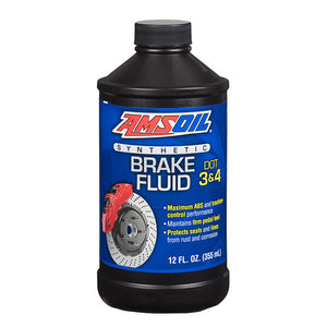 DOT 3 and DOT 4 Synthetic Brake Fluid