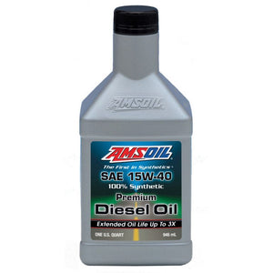 Premium 15W-40 Synthetic Diesel Oil