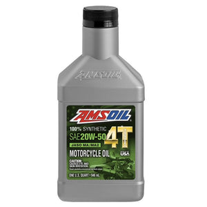 SAE 20W-50 100% Synthetic Performance Motorcycle Oil