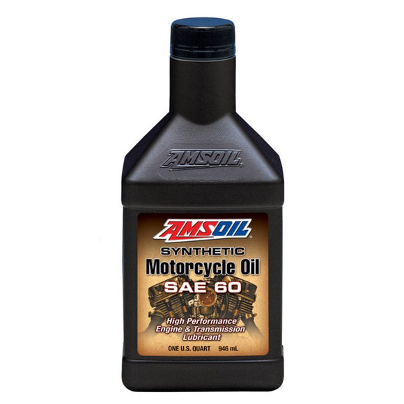 SAE 60 Synthetic Motorcycle Oil