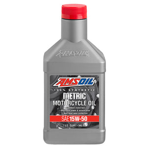 15W-50 Synthetic Metric Motorcycle Oil