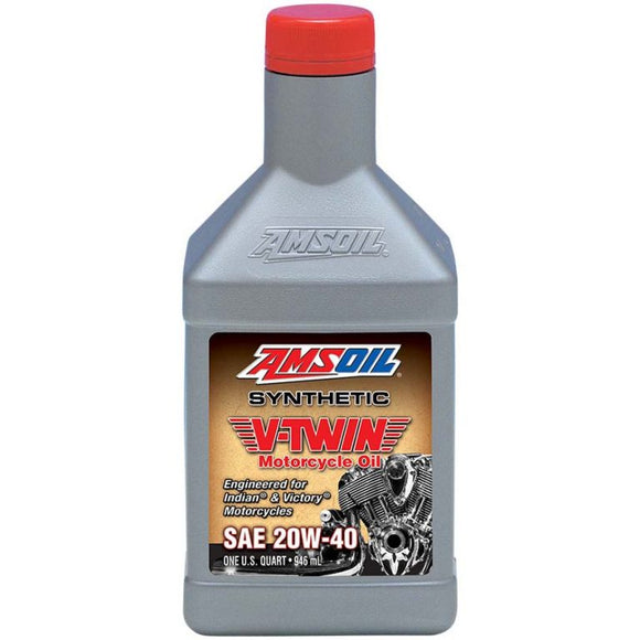20W-40 Synthetic V-Twin Motorcycle Oil