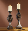 Pine Bluff Candle Holder Set - Timlin's Furniture & Mattress