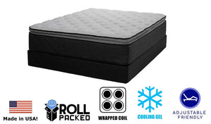 Symbol Adelphi Pillow Top Coil Mattress - Timlin's Furniture & Mattress
