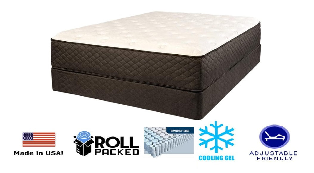 Symbol Palladium Plush Coil Mattress - Timlin's Furniture & Mattress