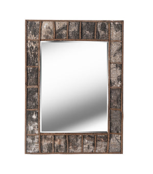 Birch Bark Wall Mirror - Timlin's Furniture & Mattress