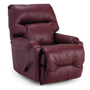 Dewey Leather Recliner - Timlin's Furniture & Mattress