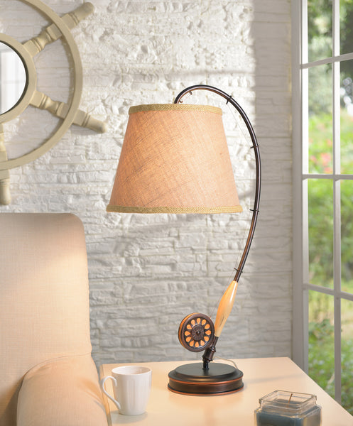 Fly Rod Table Lamp - Timlin's Furniture & Mattress
