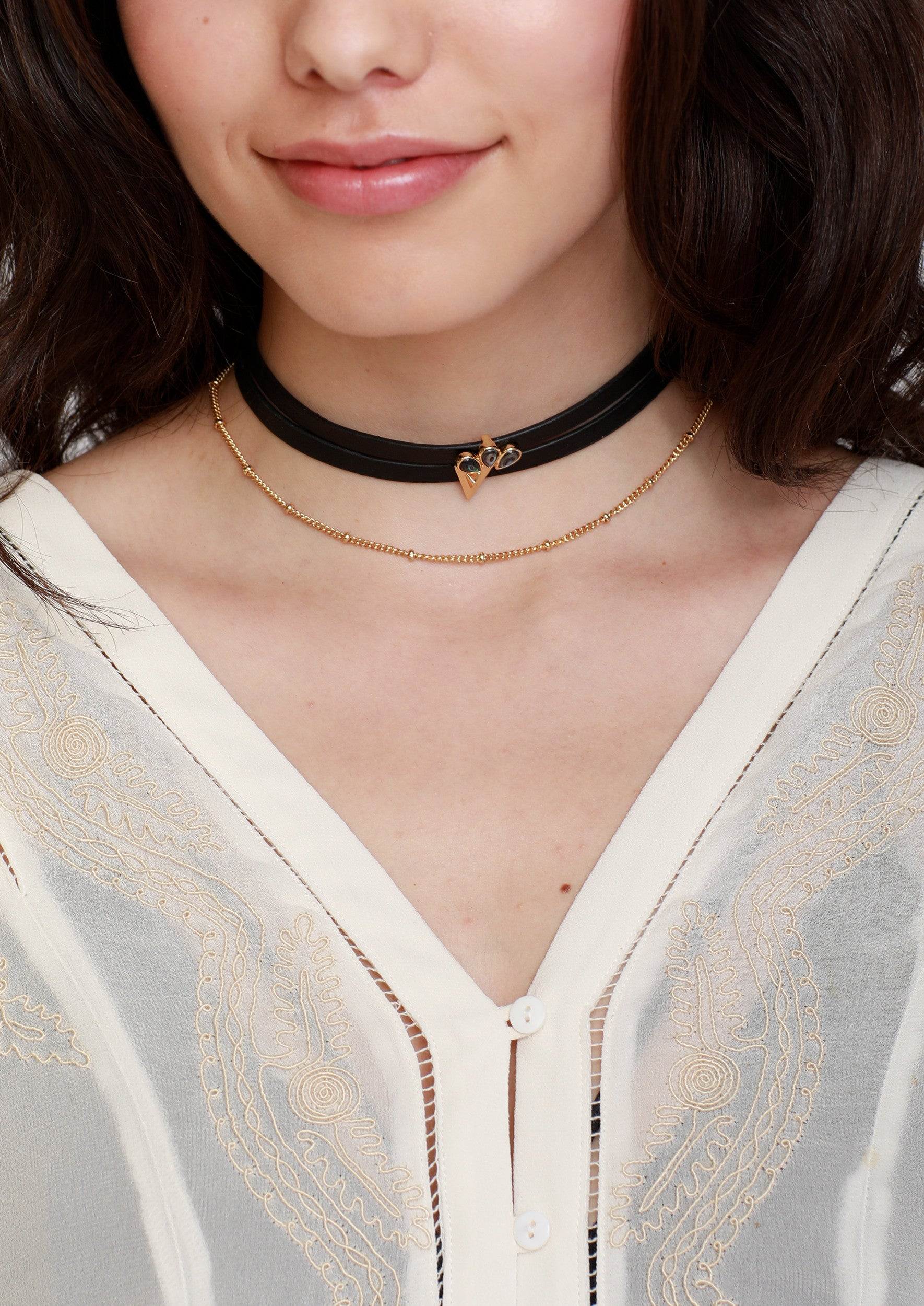 Owen Choker - Jules Smith - 14K Gold Plated - Boho Jewelry