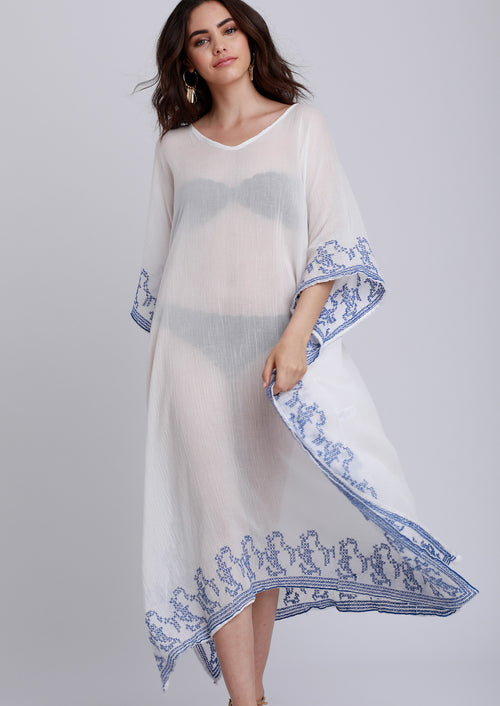 Jules Smith Boho Beach Caftan