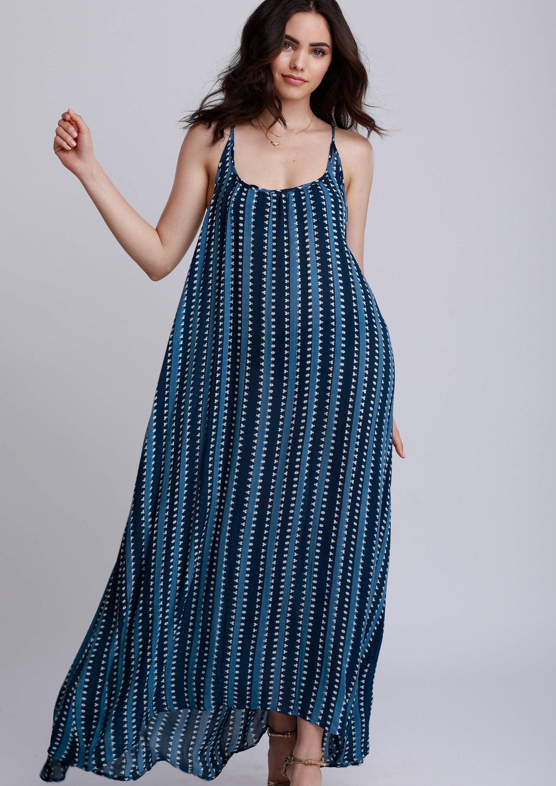 Jules Smith Bohemian Maxi Dress