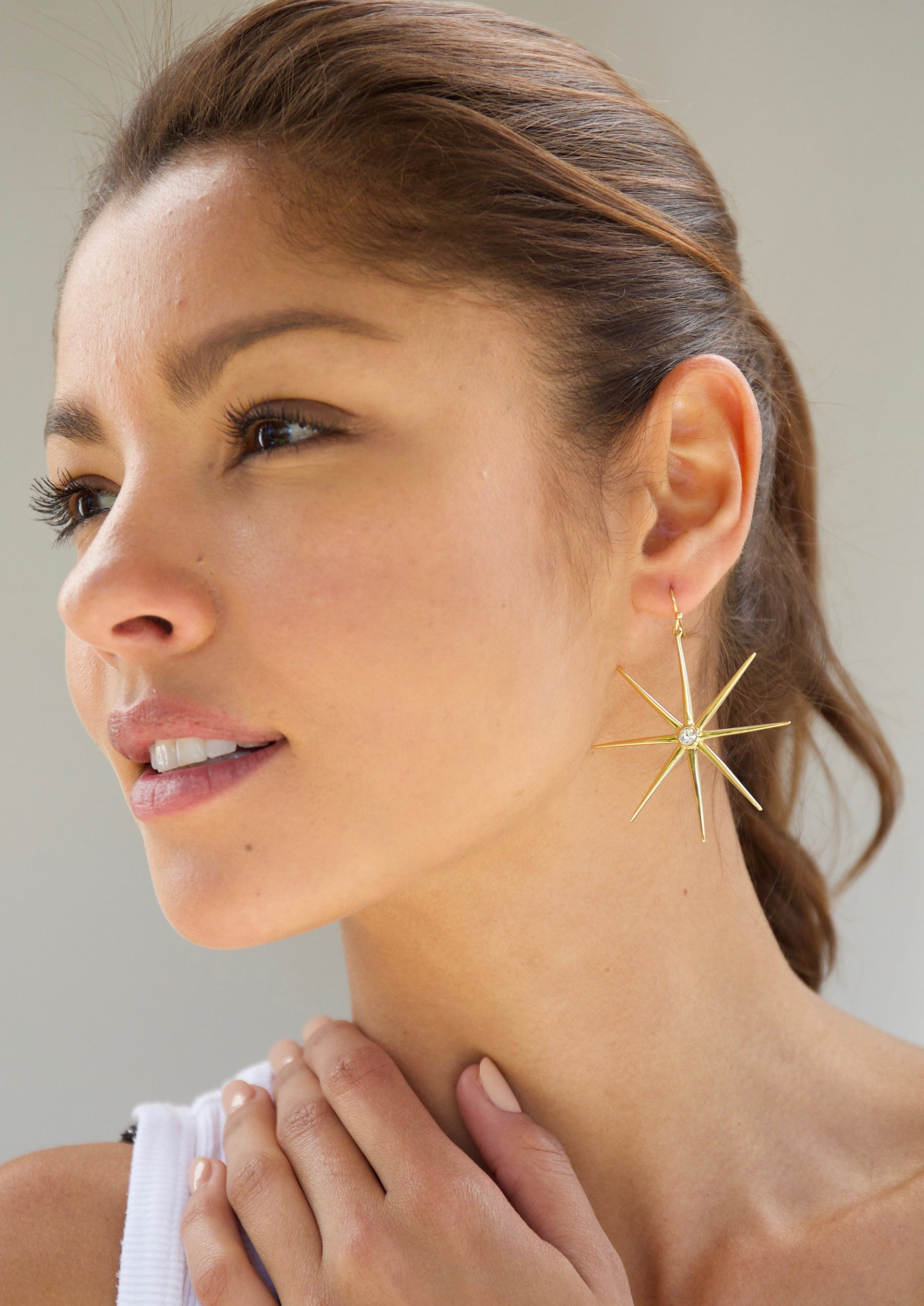 Supernova Earrings - Jules Smith - 14K Gold Plated - Boho Jewelry