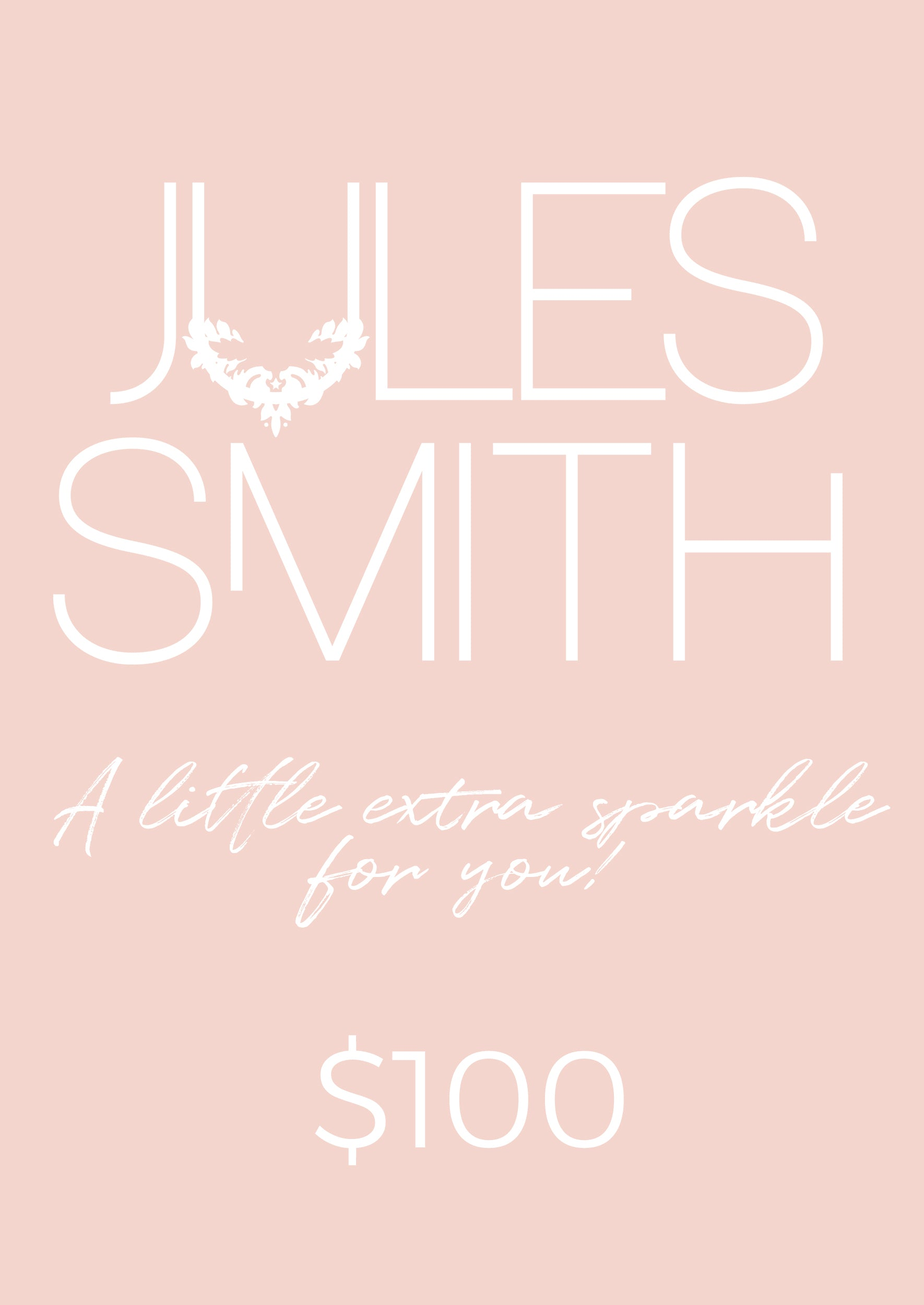 $100 GIFT CARD - Jules Smith - 14K Gold Plated - Boho Jewelry