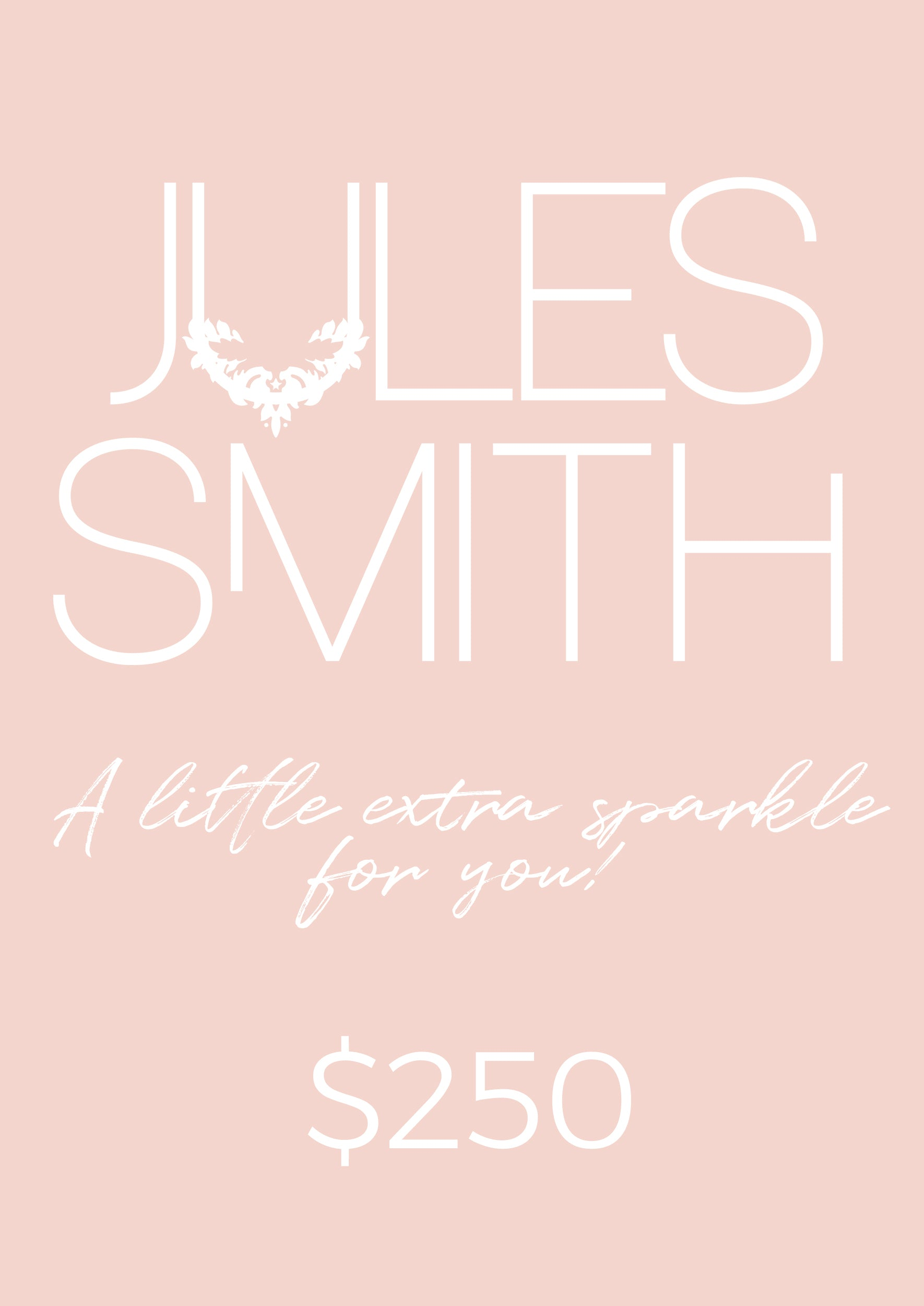 $250 GIFT CARD - Jules Smith - 14K Gold Plated - Boho Jewelry