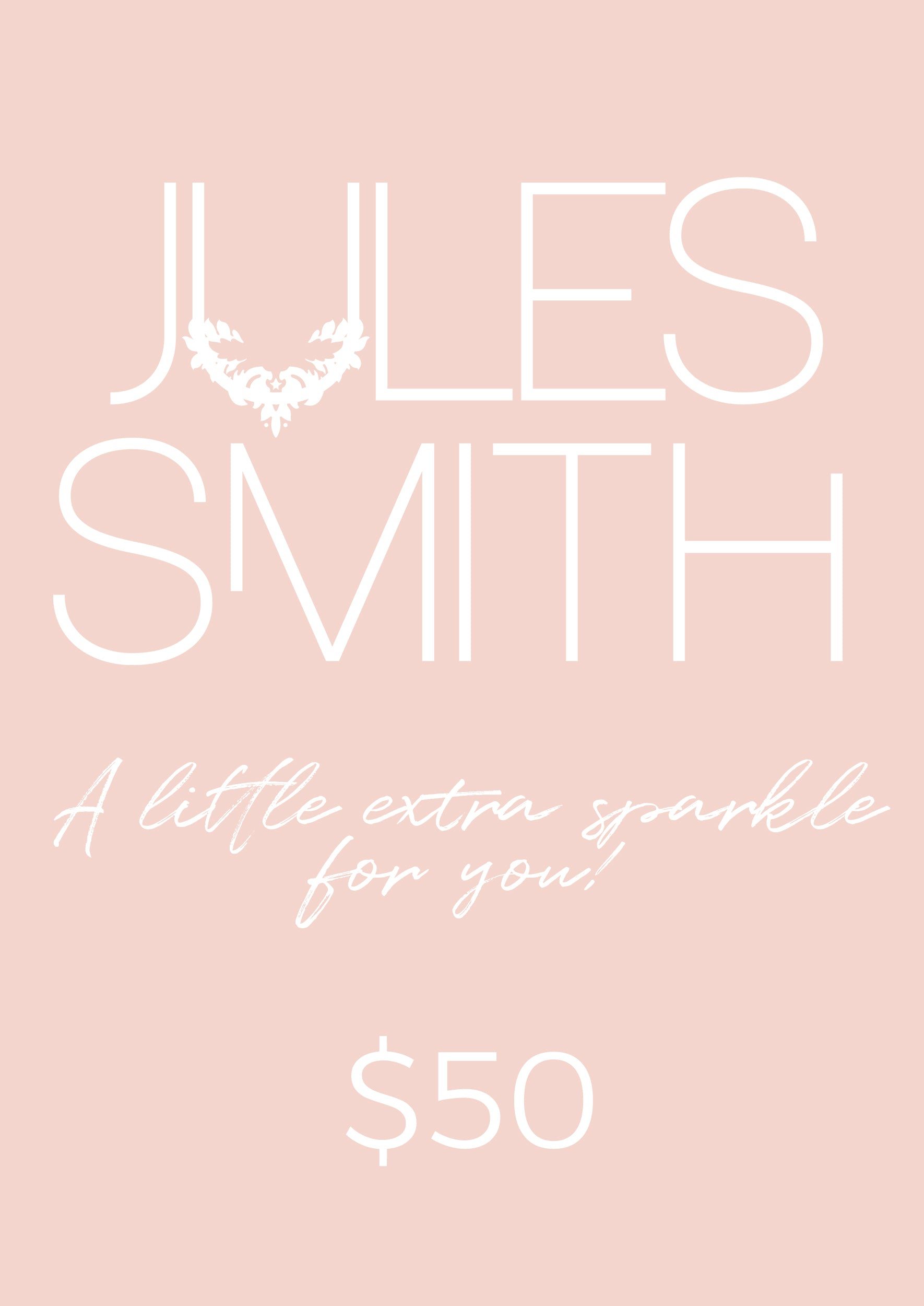 $50 GIFT CARD - Jules Smith - 14K Gold Plated - Boho Jewelry