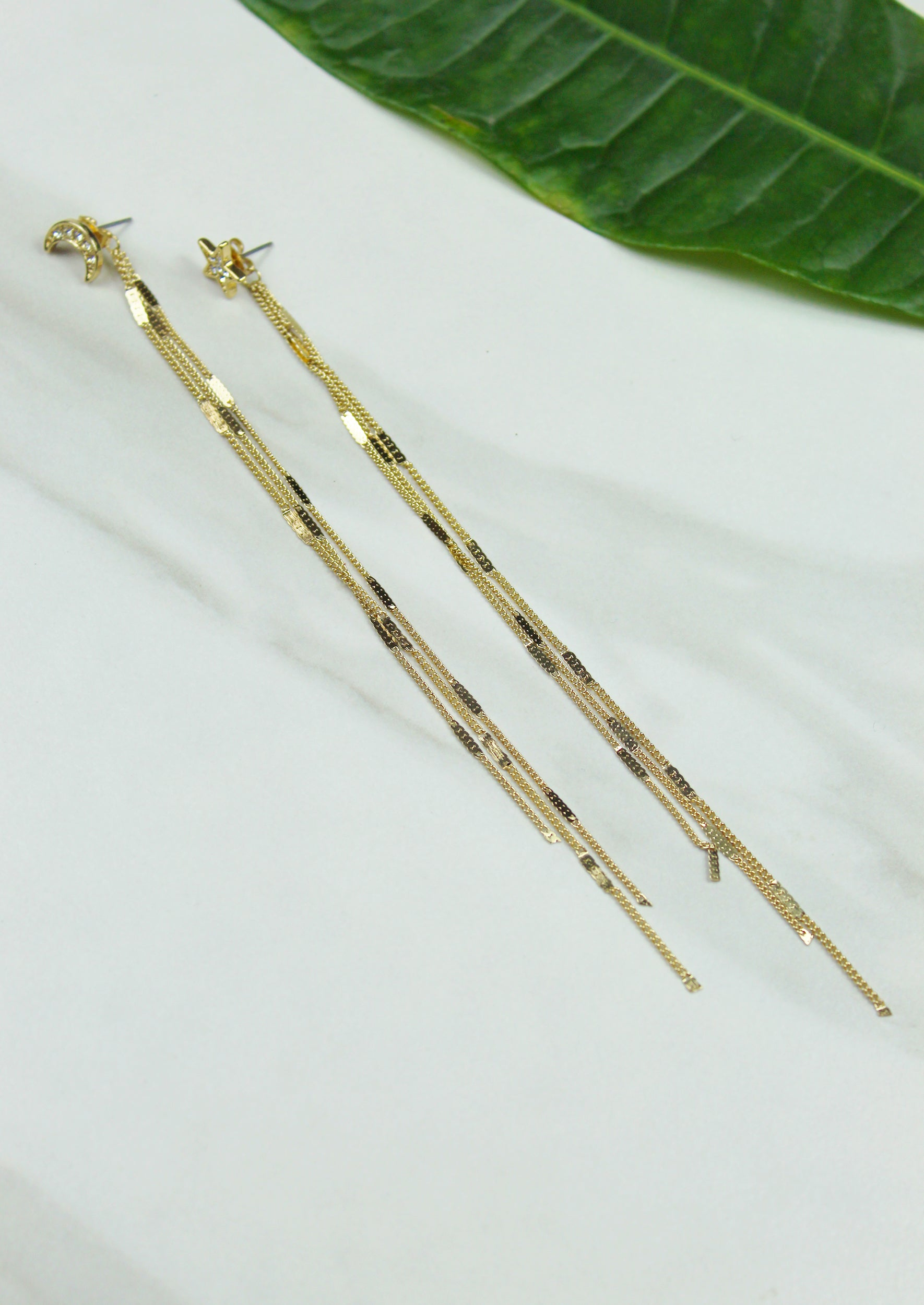 Cosmos Earrings - Jules Smith - 14K Gold Plated - Boho Jewelry